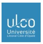 vers le site Université du Littoral Côte d'Opale